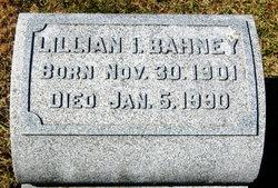 Lillian Marie <I>Isenberg</I> Bahney