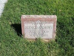 Bernice <I>Nelson</I> Andrews