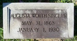 Augusta <I>Worth</I> Sinclair