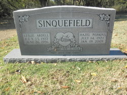 Hazel <I>Perkins</I> Sinquefield