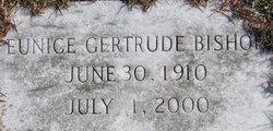 Eunice Gertrude Bishop