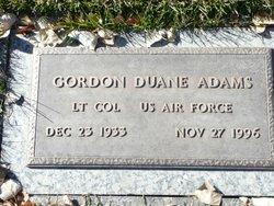 Gordon Duane Adams