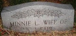 Minnie E. <I>Landreth</I> Fair