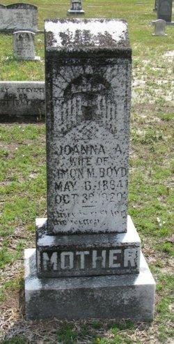 Joanna A <I>Stevens</I> Boyd