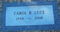 Carol Rurth <I>Fuller</I> Luce