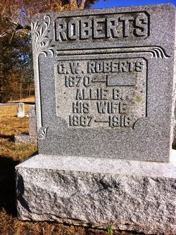 "Alice Bell ""Allie"" <I>Doan</I> Roberts"