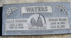 Howard Rulon Waters