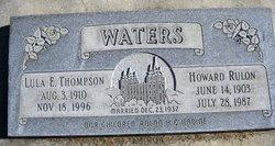 Lula Edna <I>Thompson</I> Waters