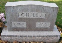 Lucile <I>Johnson</I> Childs