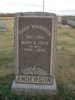 Mary B <I>Crew</I> Anderson