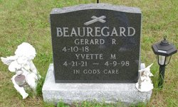 Yvette Maria <I>Lacasse</I> Beauregard