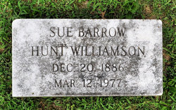 Sue <I>Barrow</I> Williamson