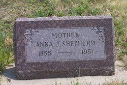Anna J <I>Caldwell</I> Shepherd