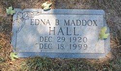 Edna Bauldin <I>Maddox</I> Hall