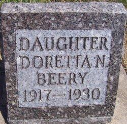 Doretta Nonda Beery