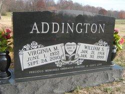Virginia <I>Marshall</I> Addington