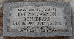 Evelyn <I>Cannon</I> Bonebrake