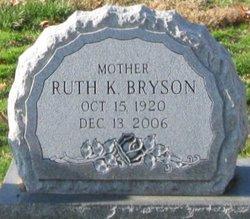Ruth K <I>Kendig</I> Bryson