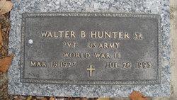 Walter B Hunter, Sr