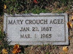 Mary <I>Crouch</I> Agee