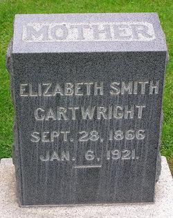 Elizabeth <I>Smith</I> Cartwright