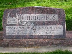 Emma Christine <I>Lott</I> Hutchings