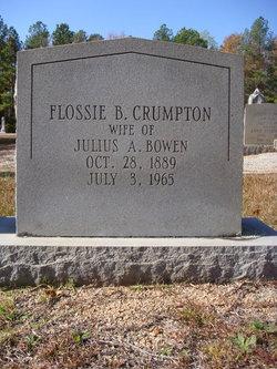 Flossie B <I>Crumpton</I> Bowen