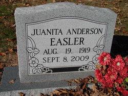 Juanita F <I>Anderson</I> Easler