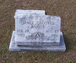 Janet Elizabeth <I>Groover</I> Amoss