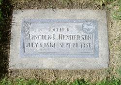"Lincoln Lafayette ""Link"" Henderson"