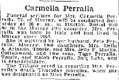 Marie Carmella <I>Palloto</I> Perrella