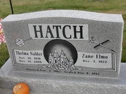 Thelma <I>Nalder</I> Hatch