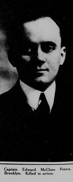 1LT Edward McClure Peters Jr.