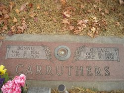 Oliver Earl Carruthers