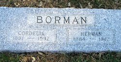 Cordelia <I>Gramlich</I> Borman