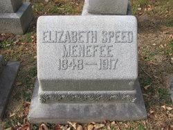 Elizabeth Williamson <I>Speed</I> Menefee