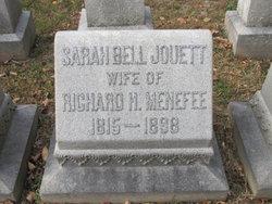 Sarah Belle <I>Jouett</I> Menefee