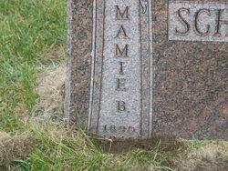 """Mary Jane """"Mamie"""" <I>Baty</I> Schonberg"""