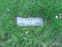 Mrs Amanda Josephine Barker