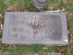 Agnes M Akers