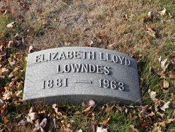 Elizabeth Lloyd Lowndes