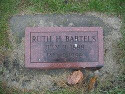 Ruth H. <I>White</I> Bartels