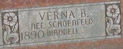 Verna B. <I>Schoenfeld</I> Waddell