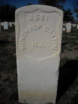 Pvt Winthrop Dayton