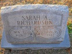 Sarah Ann <I>Broadaway</I> Richardson