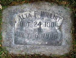 Alta F. Hollist