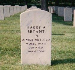 Harry A Bryant