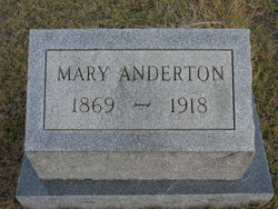 Mary Jane <I>Oliver</I> Anderton