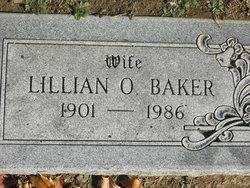 """Lillian """"Lillie"""" <I>Owen</I> Baker"""