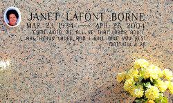 Janet <I>Lafont</I> Borne